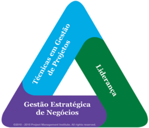 Triângulo de talentos PMI